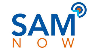 SAM NOW Logo