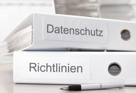 Datenschutz & Richtlinien