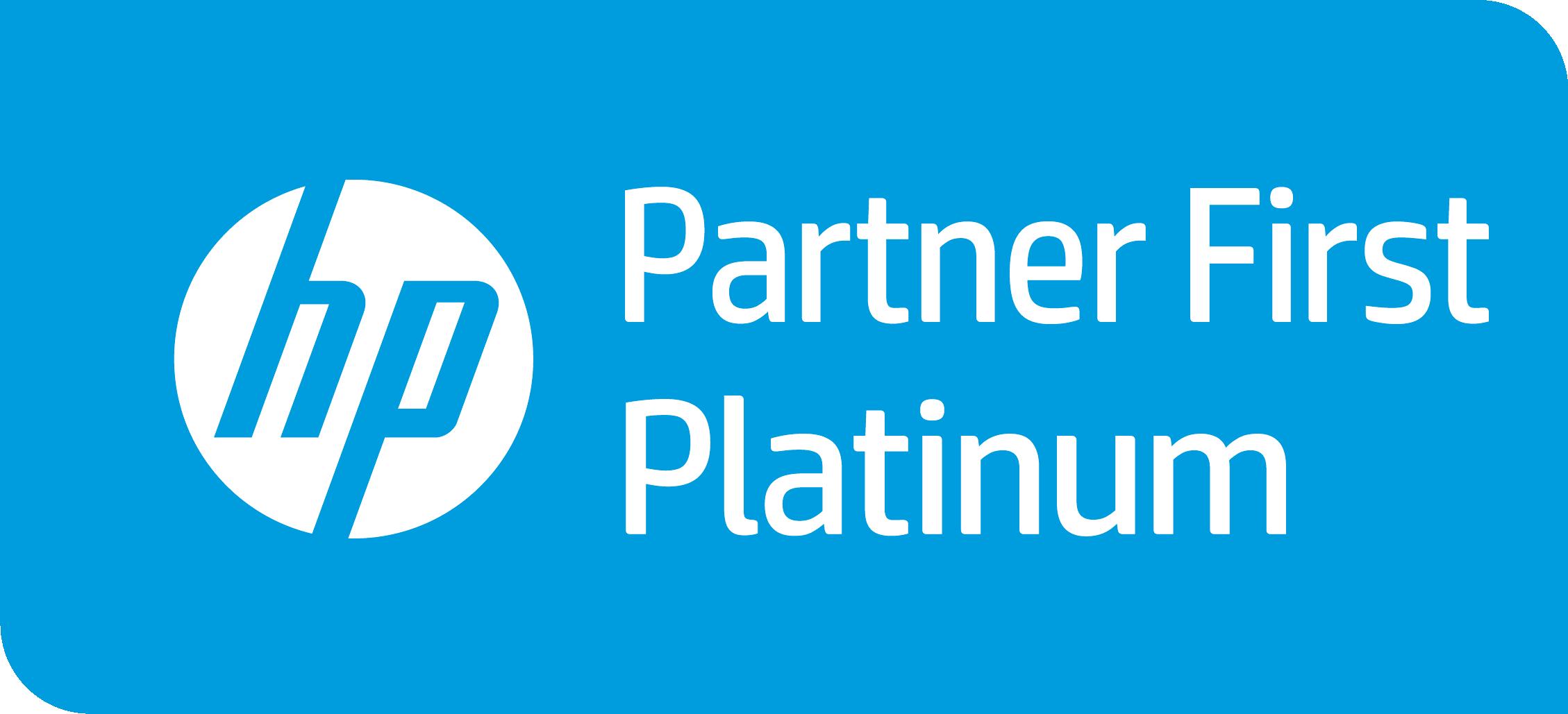 Logo HP Platin Netgo
