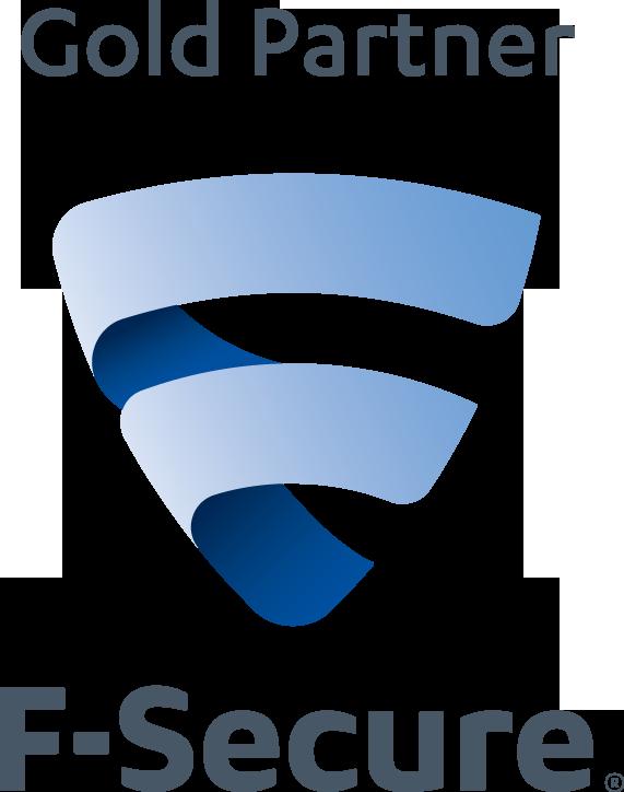 Logo F-Secure Gold Menz-EDV