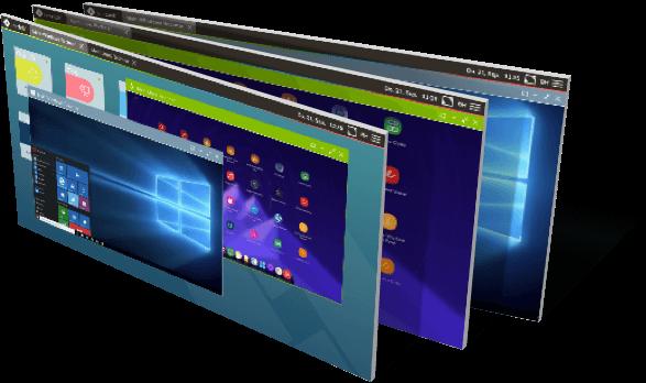 Abbildungen oneclick Desktops