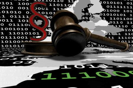 Paragraph - Richterhammer -Datenschutz