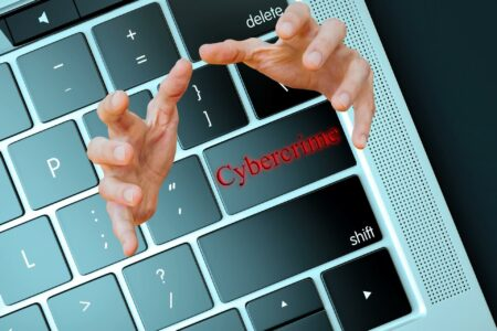 IT-Security Computertastatur cybercrime