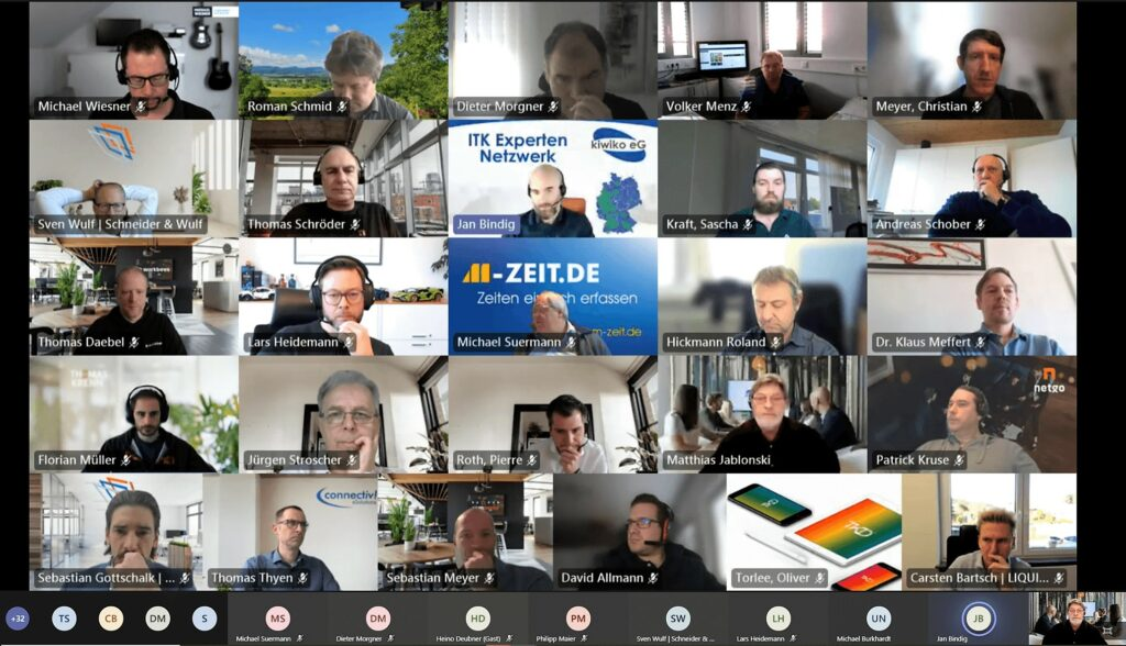 screenshot kiwiko q1 online meeting
